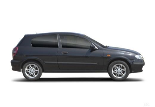 NISSAN Almera II I hatchback boczny prawy