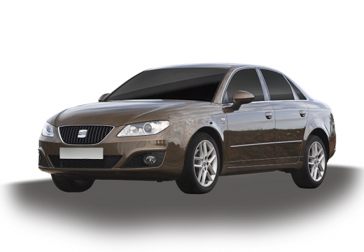 SEAT Exeo I sedan brązowy