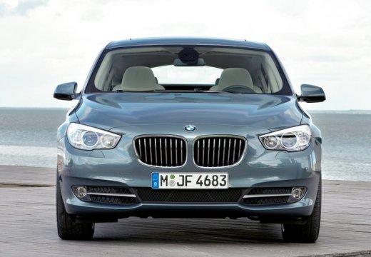 BMW Seria 5 Gran Turismo F07 I hatchback niebieski jasny przedni