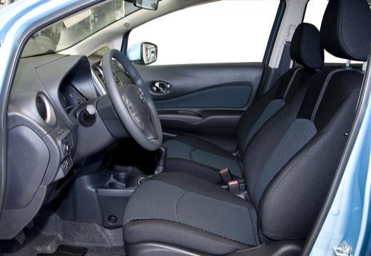 NISSAN Note III hatchback wnętrze