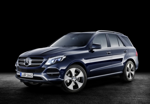 MERCEDES-BENZ Klasa GLE Hatchback 292