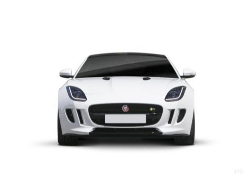 JAGUAR F-Type I coupe biały przedni