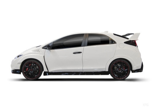 HONDA Civic IX hatchback boczny lewy