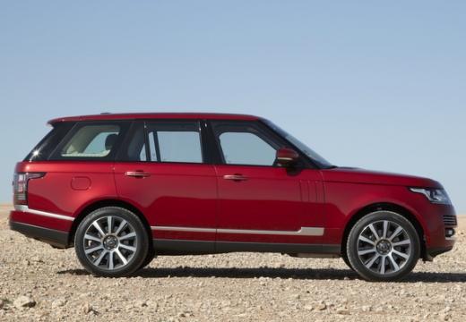 LAND ROVER Range Rover VI kombi czerwony jasny boczny prawy