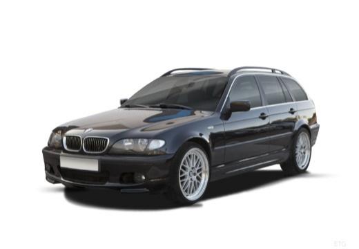 BMW Seria 3 Touring E46/3 kombi czarny przedni lewy
