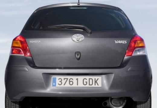Toyota Yaris IV hatchback silver grey tylny