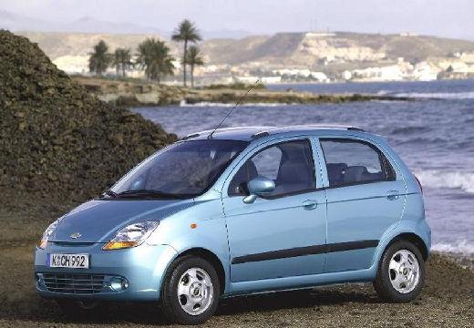 CHEVROLET Spark hatchback niebieski jasny przedni lewy