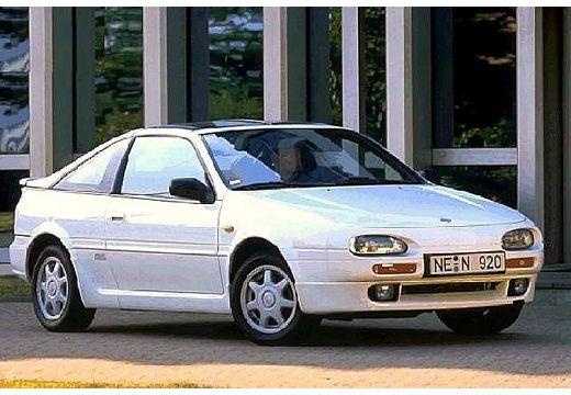 NISSAN 100 NX Coupe targa biały przedni prawy