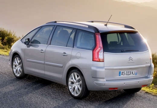 CITROEN C4 Picasso C4 Grand Picasso II kombi silver grey tylny lewy