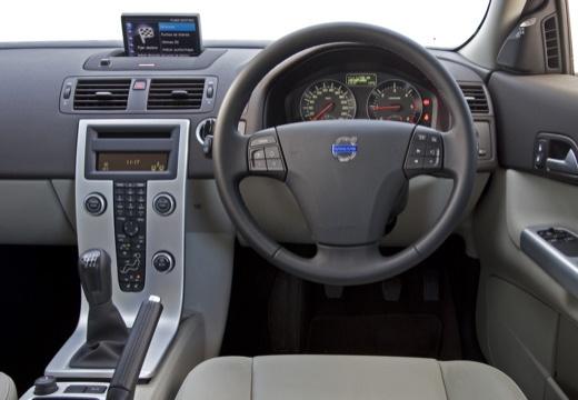 VOLVO C30 II hatchback pomarańczowy tablica rozdzielcza