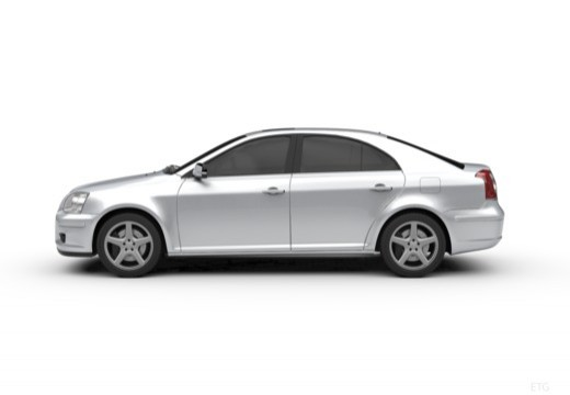 Toyota Avensis Liftback IV hatchback boczny lewy