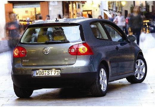 VOLKSWAGEN Golf V hatchback szary ciemny tylny prawy