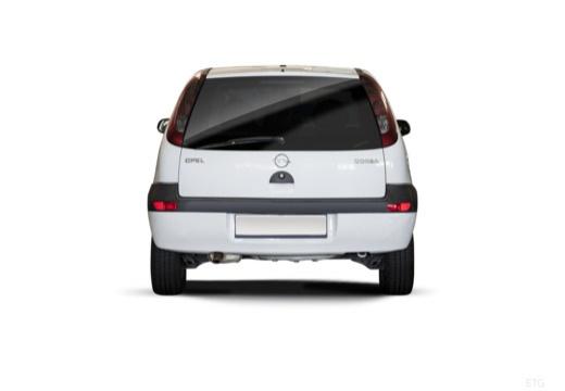 OPEL Corsa C II hatchback biały tylny