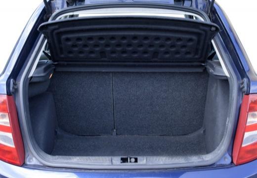 SKODA Fabia I hatchback przestrzeń załadunkowa