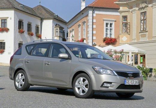 KIA Ceed Sporty Wagon II kombi silver grey przedni prawy