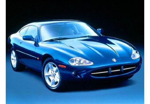 JAGUAR XK8 coupe niebieski jasny przedni prawy