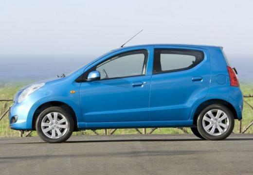 SUZUKI Alto hatchback niebieski jasny boczny lewy