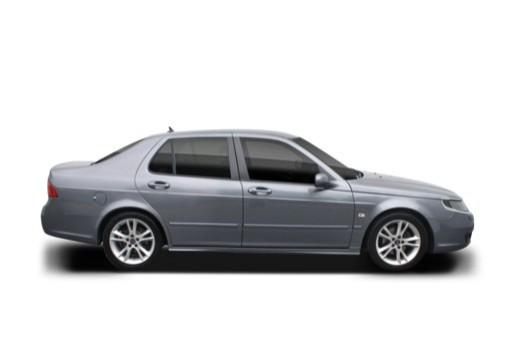 SAAB 9-5 III sedan boczny prawy