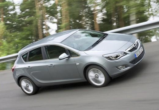 OPEL Astra IV I hatchback silver grey przedni prawy