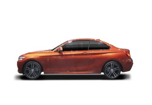 BMW Seria 2 coupe boczny lewy