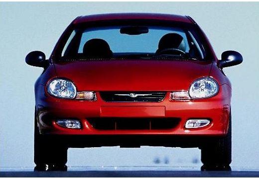 DODGE Neon sedan czerwony jasny przedni