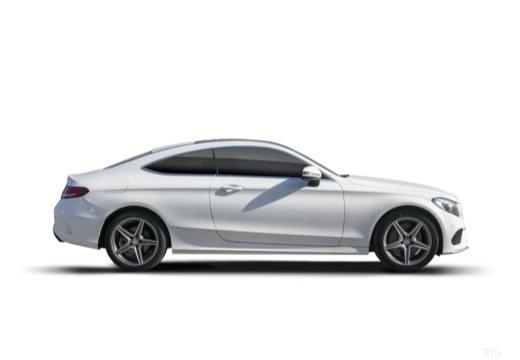 MERCEDES-BENZ Klasa C II coupe boczny prawy