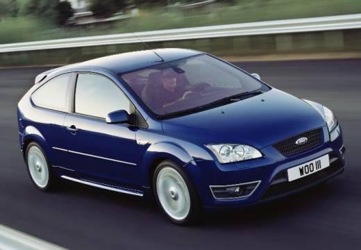 FORD Focus III hatchback niebieski jasny przedni prawy