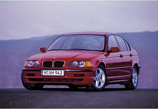 BMW Seria 3 E46 sedan czerwony jasny przedni lewy