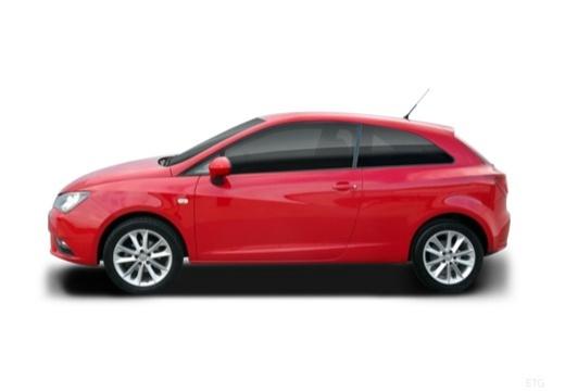 SEAT Ibiza VII hatchback boczny lewy
