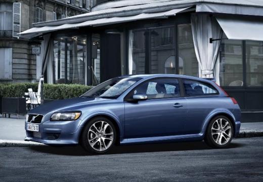 VOLVO C30 I hatchback niebieski jasny przedni lewy