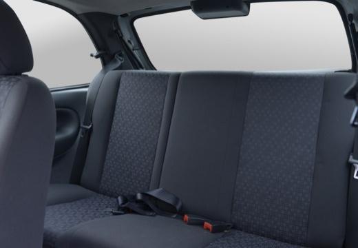 FORD Fiesta hatchback silver grey wnętrze