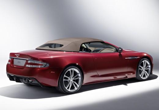 ASTON MARTIN DBS kabriolet czerwony jasny tylny prawy
