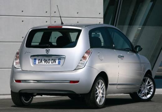 LANCIA Ypsilon II hatchback silver grey tylny prawy