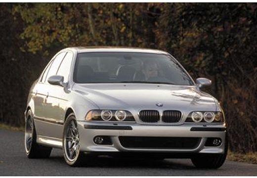 BMW Seria 5 E39/4 sedan silver grey przedni prawy