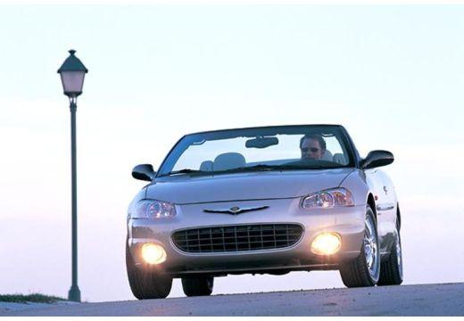 CHRYSLER Sebring Cabrio I kabriolet złoty przedni lewy