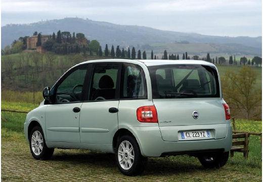 FIAT Multipla II kombi zielony jasny tylny lewy