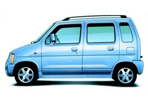 SUZUKI Wagon R+ hatchback niebieski jasny boczny lewy