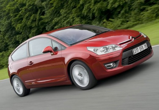CITROEN C4 II hatchback czerwony jasny przedni prawy