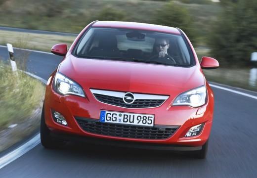 OPEL Astra IV I hatchback czerwony jasny przedni
