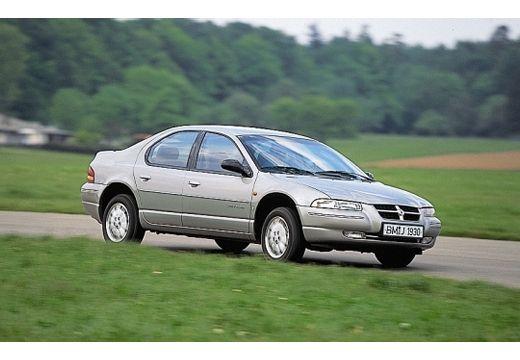 DODGE Stratus I sedan silver grey przedni prawy