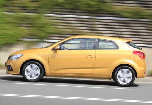 KIA Ceed Proceed III hatchback żółty boczny lewy