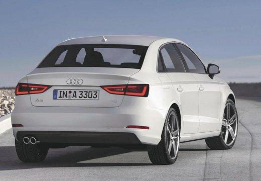 AUDI A3 Limousine I sedan biały tylny prawy