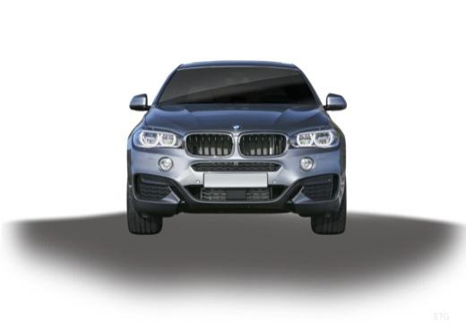BMW X6 X 6 F16 hatchback szary ciemny przedni