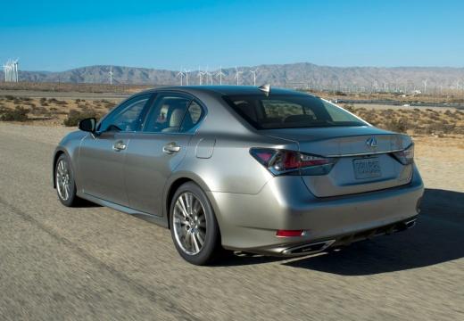 LEXUS GS V sedan szary ciemny tylny lewy