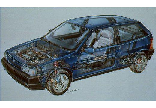 FIAT Tipo I hatchback prześwietlenie