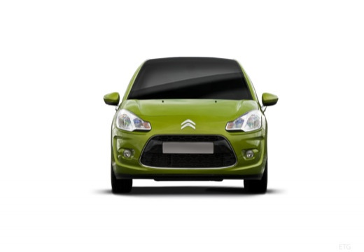 CITROEN C3 II I hatchback zielony przedni