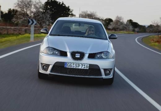 SEAT Ibiza IV hatchback silver grey przedni