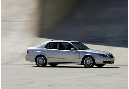 SAAB 9-5 III sedan silver grey boczny prawy