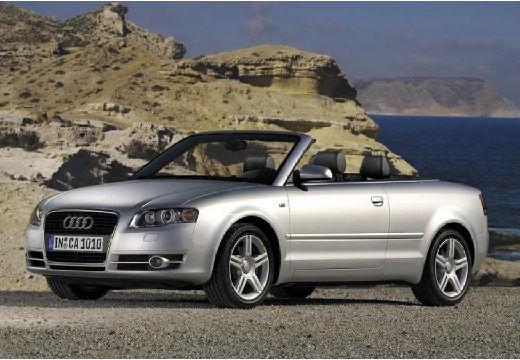 AUDI A4 kabriolet silver grey przedni lewy