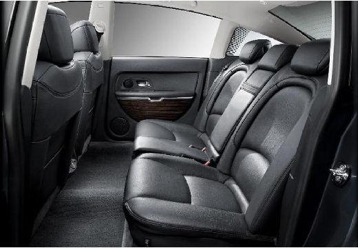 CITROEN C6 sedan wnętrze